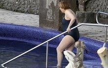 Angela Merkel v plavkách: Tohle neměl nikdo vidět!