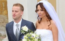 Agáta a Jakub Prachařovi jsou podruhé svoji: Svatba svedla dohromady rivalky Batulkovou a Rybovou!