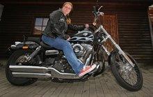 Motorkářka Zuzana: Na Harleyi seděla už v jednom roce!