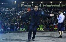 Travolta to rozjel v karlovarském letním kině a prozradil: Pořád tancuju!