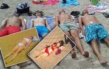 Džambulka ležící spící je letním hitem: Bartošová si dala »čucíka« a ovládla pláže!