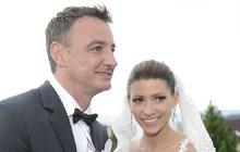 Tereza Kerndlová pořádala druhou svatbu a prozradila: Dítě? Už to řešíme!