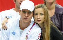 Smutné přiznání ženy Tomáše Berdycha: Doma nejsem číslo jedna!