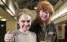 Jiří Lábus měl být udatný lev, ale vypadal spíš jako bezdomovec