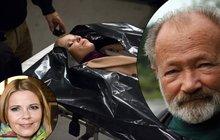 Děsivé fotky mrtvé dcery Rudolfa Hrušínského v seriálu Ulice!