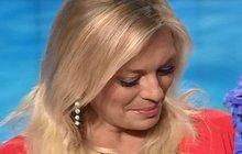 Lucie Borhyová při posledním vysíláním: Dojetím se rozplakala! Co vzkázala divákům?