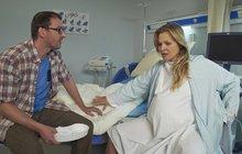 Teď se provalilo: Badinková zUlice při natáčení porodu kolabovala! Víme, co se dělo