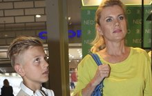 Leona Machálková: Ukázala syna Artura (11)!