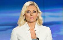 Moderátorka Lucie Borhyová: Denně se klepe o místo!