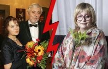 Urbánková a Abrhám: 40 let nenávisti! O jeho podvádění věděli všichni! Kromě ní...