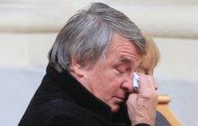 Vlastimil Harapes v slzách: Lítost a zklamání ze smrti…
