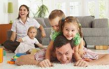 Rodiny se třemi dětmi: Život bez daní!