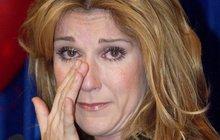 Truchlící Céline Dion (47): První fotky od  smrti manžela!