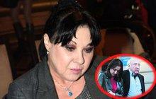 Dlouhodobě podváděná Patrasová (60): Stres, vředy, odvoz do nemocnice!