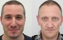 Policie varuje: Dva  vězni jsou na útěku!