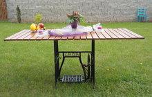 Hanka z Klecan vyráběla ze starého roštu a nyní má pěkný stůl nejen na zahradu! Zkuste to i vy!