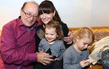 Dcerky Petra Jandy (74) v slzách: Únos se šťastným koncem!