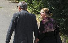 Pohřeb Borna (†85)! Jana (68) a Viktor (69) Preissovi: Po 2 letech skrývání  opět na veřejnosti!
