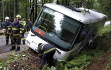Troubení busu způsobilo havárii!