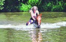 Voda, krásné jezdkyně a radostné ržání! Jaké počasí bude dál?