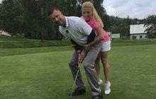 Vágner s Perkausovou na golfu! Přeskočila jiskra?