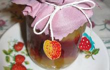 Dvoubarevná marmeláda od Jitky ze Strakonic: Použijte maliny i rybíz!