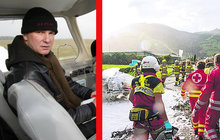 Skladatel a letec Ondřej Soukup (65): Pád letadla! Vážná zranění!