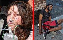 Hromadné předávkování marihuanou: Na ulicích sbírají zfetované zombie!