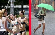 Extrémně proměnlivé léto pokračuje: Třicítky (zase) vystřídá chladno!