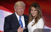 Trump je blíž Bílému domu, ale...Naštvala ho manželka!