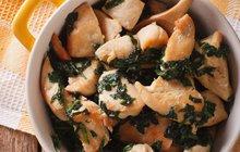 Jednoduché a vynikající kuřecí maso: Osvědčenou kombinací se špenátem neuděláte chybu!