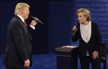 Debata Clinton vs. Trump se zvrhla: Špinavé výpady kvůli sexu!