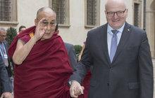Herman se sešel s dalajlámou a... jeho strýci Hrad škrtl metál!