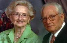 74 let byli manželé, zemřeli v jeden den!