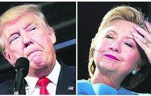 Volby prezidenta USA už v úterý: Trump musí řešit práci manželky, Hillary milion dolarů z Kataru!