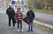 Někdo přepadává děti v Kladně! Luboš (10): Chtěl mě zmlátit, pak mi ukradl telefon