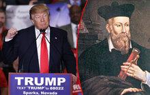 Trumpa předpověděl i Nostradamus: Přijde s ním konec světa!