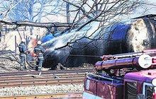 Vykolejený vlak s plynem zdevastoval bulharské město!