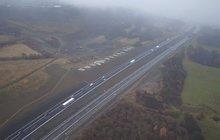 Nově otevřená dálnice D8: První velká zatěžkávací zkouška!