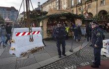 Německo se obává teroristů: Drážďany »opevňují« vánoční trhy!