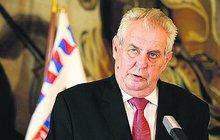 Prezident Zeman ve špitále!