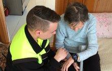 Marie (84) z Břeclavi: Ležela jsem ve sklepě, zachránily mě hodinky!