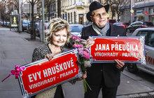 Přeučil slavil 80, Hrušková 65: Dostali ulici i vnouče!