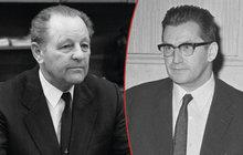 Štrougal a Jakeš: K soudu je ženou i Němci!