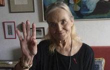 Její stav se zlepšil natolik, že už Gábi Vránová (77) mohla po několikaměsíčním boji s rakovinou tlustého střeva usednout před kameru!