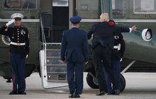 Americký prezident Trump na letišti: Tak trochu komedie!