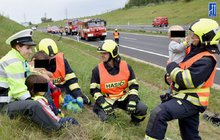 Dětský pláč a děsivý pohled. Karambol na dálnici D6, šest zraněných, mezi nimi čtyři děti. Na první zdání velká tragédie. Díky hasičům a policistům je však z dramatu příběh, který hřeje u srdce.