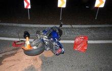 Místo toho, aby zastavil, přidal plyn a chtěl ujet. Muž (30) na motorce se snažil v noci na včerejšek zmizet strážcům zákona v Praze.