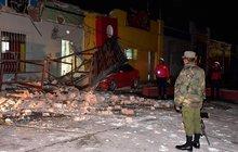 Mexiko zasáhlo nejsilnější zemětřesení od roku 1985, hrozí tsunami!