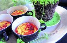 Zelenina je zdravá a před nadcházejícím podzimem nám dodá spoustu potřebných vitamínů. Ozvláštněte svůj jídelníček nevšedními recepty, které zahřejí bříško a potěší chuťové pohárky. Všechny čtyři recepty jsou zknihy Kuchařka ze spíže znakladatelství Esence.
